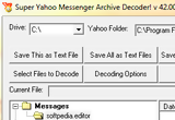 Super Yahoo Messenger Archive Decoder 42.00 poster