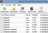 Switch Sound File Converter 4.60 poster