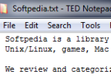 TED Notepad 6.0.2 Beta / 5.4.2 poster