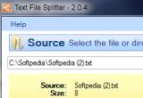 Text File Splitter 2.0.4 poster