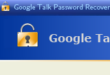 Google Talk Password Recovery 1.30 poster