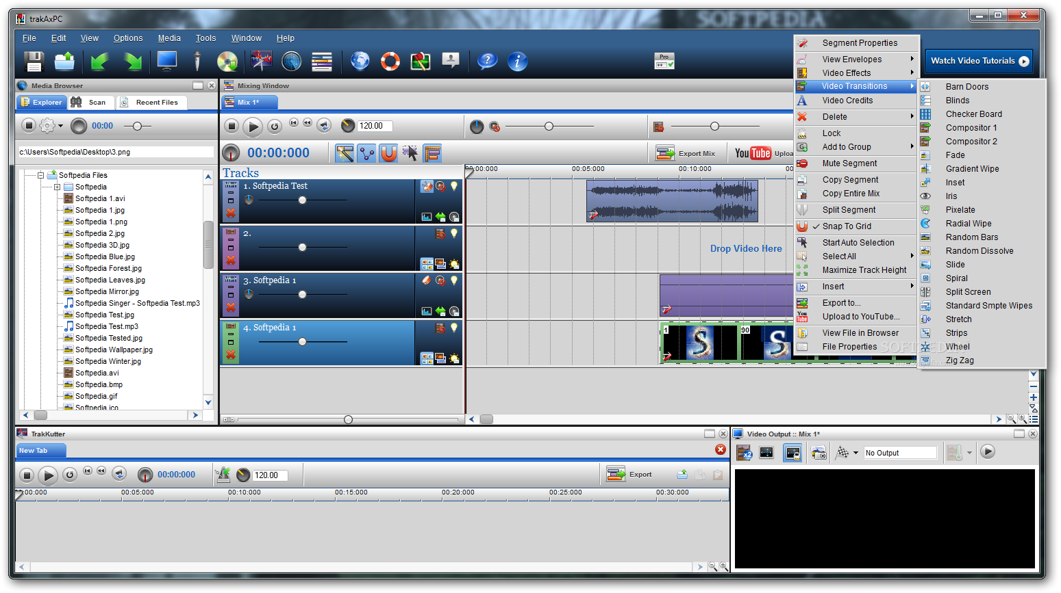 Trakax software