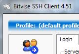 Bitvise SSH Client 6.08 poster