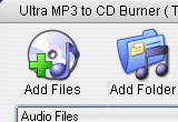 Ultra MP3 to CD Burner 1.6.0 poster