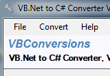 VB.Net to C# Converter 3.10 poster