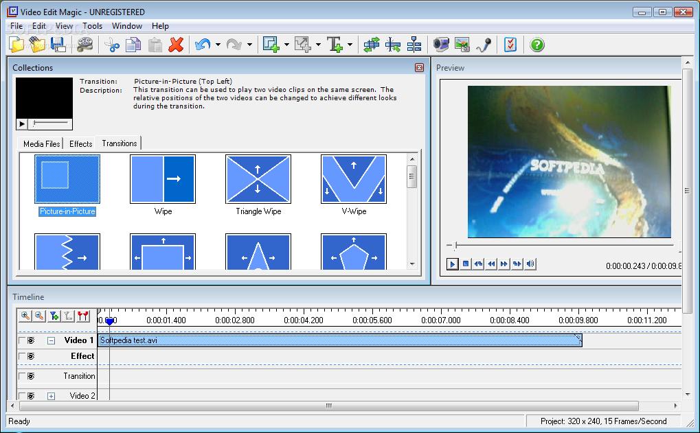 تحميل برنامج video edit magic
