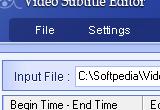 Video Subtitle Editor 1.00 poster