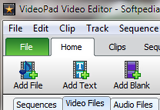 VideoPad Video Editor 3.61 Beta poster