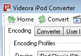 Videora iPod Converter 4.07 poster