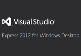 Microsoft Visual Studio Express Edition 2012 11.0.50727.42 / 12.0.20827.3 2013 RC poster