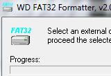 WD FAT32 Formatter 2.00 poster
