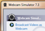 Webcam Simulator 7.3 poster