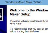 Windows Movie Maker Installer 1.2 Build 18.2 poster