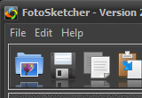 Portable FotoSketcher 2.96 poster