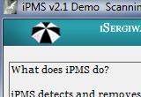 iPMS-iSergiwa Portable Malware Scanner 2.1.0.2 poster