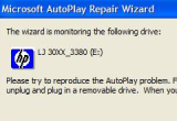 Windows XP autorun repair wizard 5.2.3790.67 poster