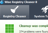 Wise Registry Cleaner 7.91 Build 521 poster