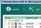 Wondershare DVD to RM Converter 3.2.49 poster