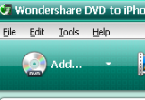 Wondershare DVD to iPhone Converter 4.2.0.19 poster