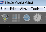 NASA World Wind 1.4.1 Alpha / 1.4.0 Final poster
