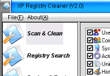XP Registry Cleaner 2.0 poster