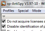XP-Antispy 3.98-2 poster