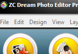 ZC Dream Photo Editor Pro 2012.6.00 poster