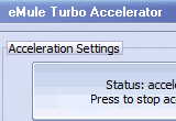 eMule Turbo Accelerator 4.6.0 poster