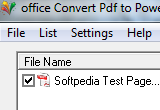 office Convert Pdf to PowerPoint for ppt Free 6.5 poster