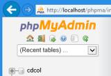 phpMyAdmin 4.2.8.1 poster