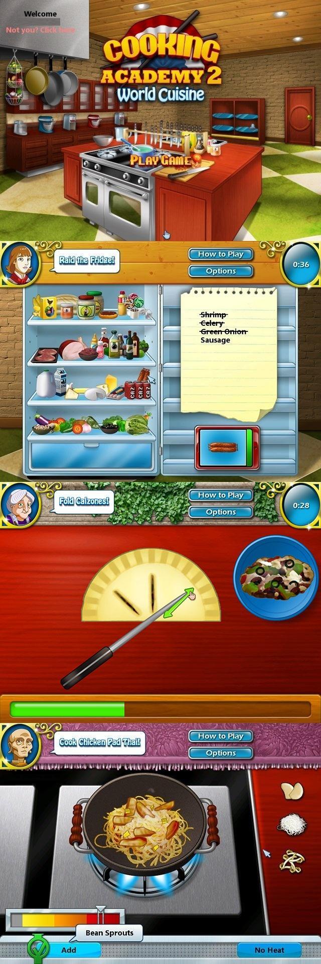 لعبة cooking academy 3 كاملة مجانا