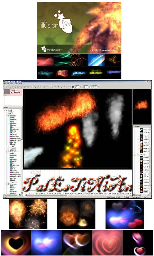 برنامج عمل الخدع السينيمائية والمؤثرات المرئية ParticleIllusion v3.0.2 Retial 10366_1211226343