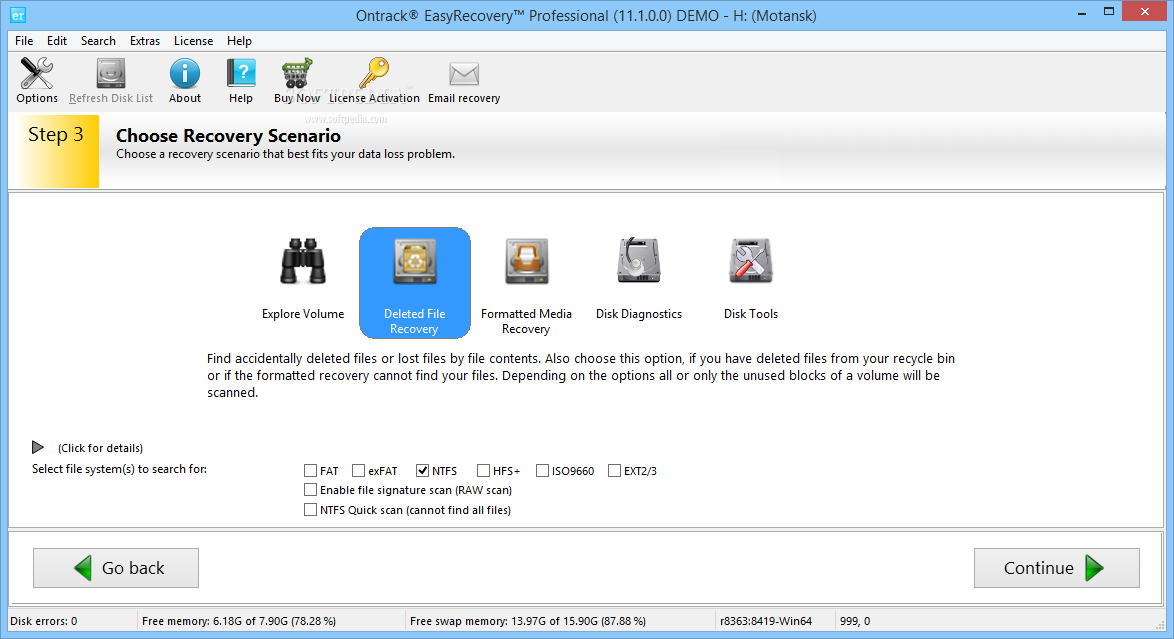 EasyRecovery software products offer home users or businesses complete